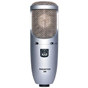 akg perception 200 large diaphragm true condenser microphone home audio theater. Black Bedroom Furniture Sets. Home Design Ideas