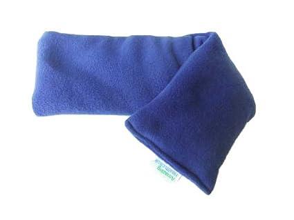 Amazing Health Royal azul forro polar bolsa de frío y calor reutilizable (microondas bolsa de trigo