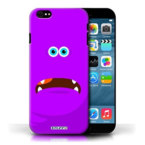 Kobalt® Imprimé Etui / Coque pour Apple iPhone 6/6S / Pourpre conception / Série Monstres