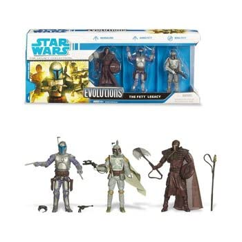 Star Wars Evolutions 3 Pack: The Fett Legacy