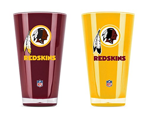 NFL Washington Redskins 20oz Insulated Acrylic Tumbler Set of 2
