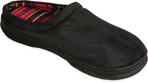 Deluxe Comfort Male Memory Foam Slippers - Size 11 to 12I...