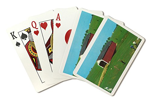 Rockville, Indiana - View of the Catlin Bridge at Parke County Golf Course (Playing Card Deck - 52 Card Poker Size with Jokers)