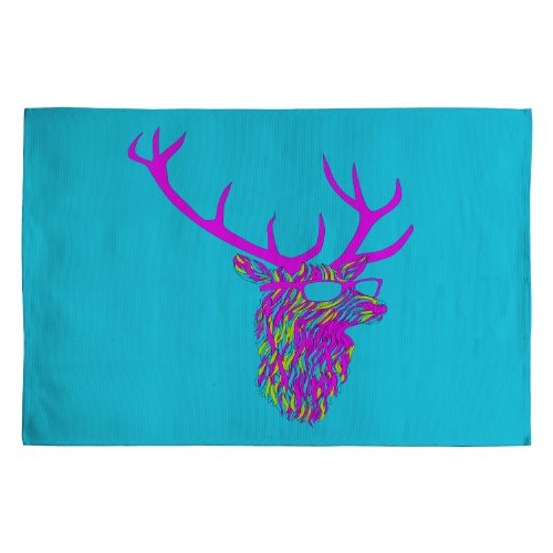 Deny Designs Robert Farkas Party Deer Woven Rug, 2 x 3