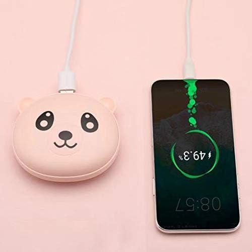 Calentador de Manos de Bolsillo con bater/ía USB Reutilizable Blanco Cisne 2013 S.L Calentador de Manos de Osito Recargable de Calentamiento r/ápido Calentador de Manos m/óvil