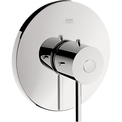 - Axor 10407001 Starck Pressure Balance Trim, Chrome