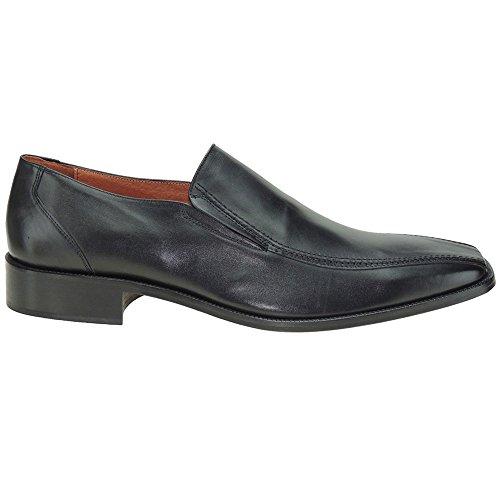 Calzados Romero Carlo GARELLI. Zapato Vestir. Piso Cuero. Para HombreTallas Grandes NEGRO