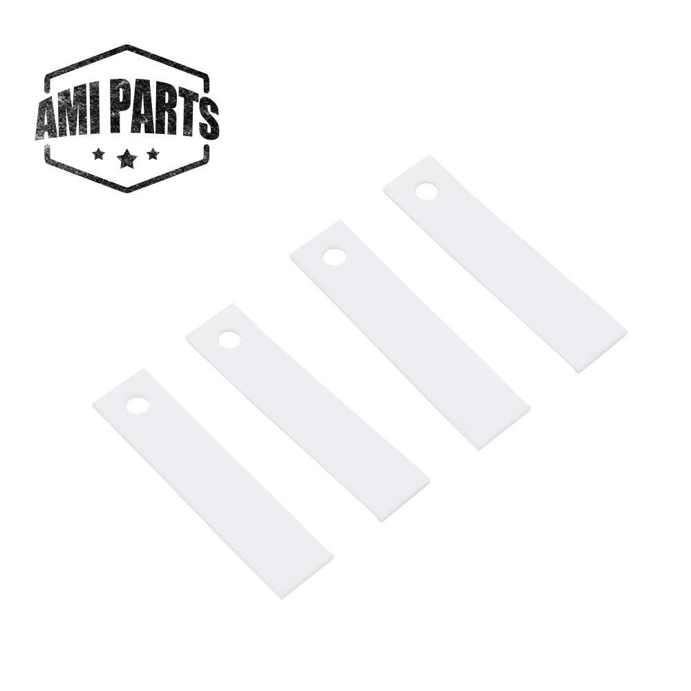 4 Pack WE1M504 Dryer Front Drum Glide Slide kit for GE WE1M333 PS755842 963512