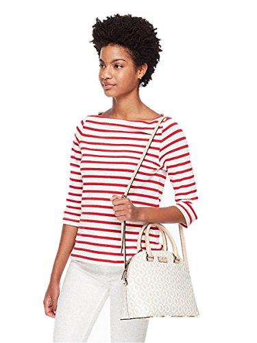 Street Spade Bag Kate Bag Shoulder Cardam Purse Leather Cream Crossbody Carli Grove Satchel qEdxw4pdv