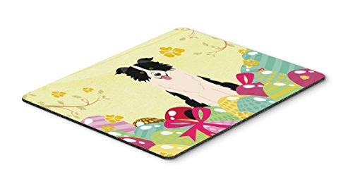 - Caroline's Treasures Easter Eggs Border Collie Black White Mouse Pad, Hot Pad or Trivet, Multicolor, 7.75x9.25   (BB6118MP)