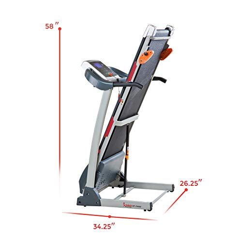 Sunny Health & Fitness Treadmill Folding Motorized Running Machine by Sunny Health & Fitness (Image #10)