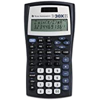 "TI-30XIIS Texas Instruments TI30XIIS Dual Power Scientific Calculator - LCD - Battery/Solar Powered - 6.1"" x 3.2"" x 0.8"" - 1 Each"