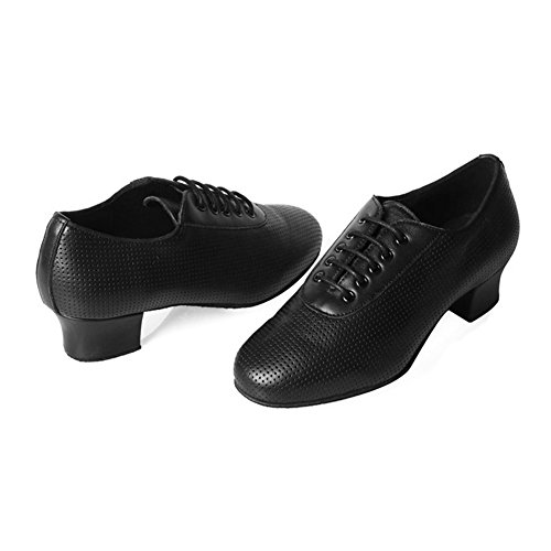 Scarpe Da Ballo Latino Da Donna In Pelle Roymall / Scarpe Da Salsa / Scarpe Da Ballo Da Sala, Modello Af50 Black-2