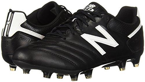 2b66a943e46 New Balance Men s 442 Team FG V1 Classic Soccer Shoe Black White 11 ...