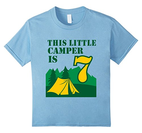 Kids-7th-Birthday-Boys-Camping-T-Shirt-Summer-7-Year-Old