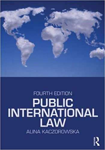 Book Public International Law by Alina Kaczorowska-Ireland (28-May-2010)