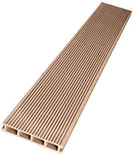 [スポンサー プロダクト]ウッドデッキ 人工木材 人工木 部材 樹脂ウッドデッキ 床材H-B110 150×25×2000mm【H-B110】【2色選択可】 (ナチュラル・12本セット)