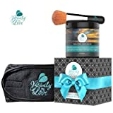 Facial Mask Spa - Dead Sea Mud Mask Luxury Spa Kit with Facial Brush and Headband
