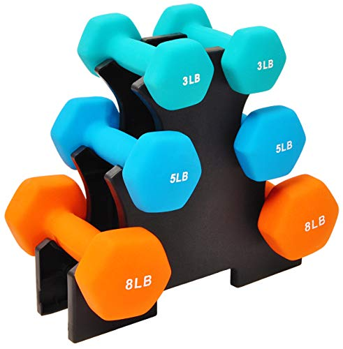 BalanceFrom BF-D358 Dumbbell Set with Stand