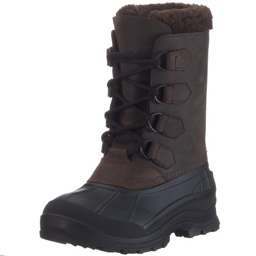 Kamik Women's Alborg Boot,Gaucho/Brown,11 M (Kamik Lined Snow Boots)