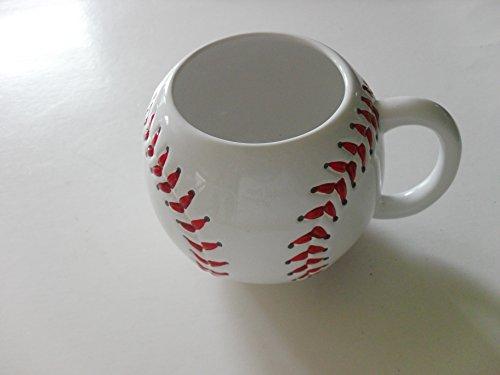 white porcelain baseball cup (one ()