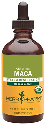 - Herb Pharm Certified Organic Maca Liquid - 4 Ounce