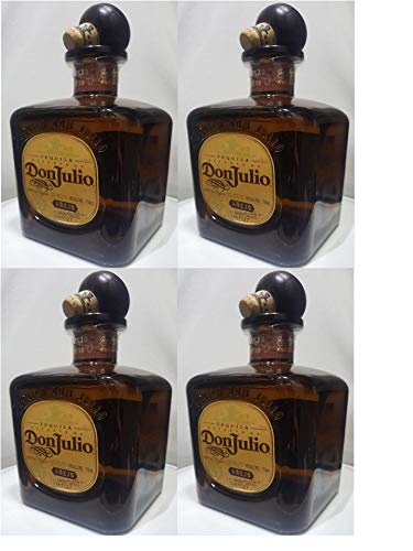 Don Julio Anejo (4 pack Empty bottles)