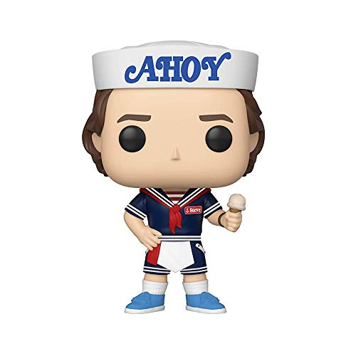 Pop! Vinilo Stranger Things Steve w/Hat and Ice Cream