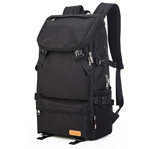 YYY-Un nuevo día Mochila viaje al aire libre Camping pesca deportiva para los hombres y las mujeres mochila 51 * 14. 5 * 30. 5 cm , elegant purple mysterious black