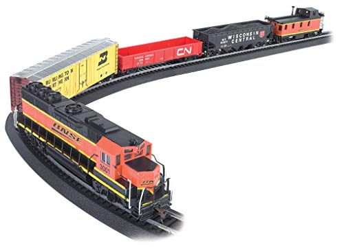 - Bachmann Trains - Rail Chief Ready To Run 130 Piece Electric Train Set - HO Scale