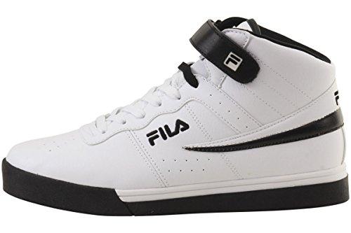 Fila Mens Vulc 13 Mi Plus 2 Chaussure De Marche Blanc, Noir