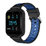 Lovewe Q1 Pro Android6.0 4G Heart Rate Monitor, Blood pressure,Pedometer Phone Call 1G RAM 8G ROM GPS WIFI IP67 Waterproof Smart Watch (BLUE)