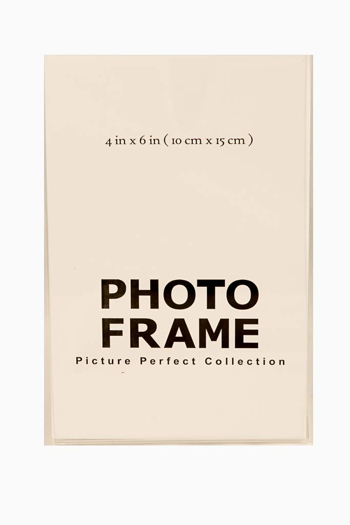 144 Sign Holders 4x6 Vertical Pack of 4x6 Acrylic Picture Frames Picture Perfect Supply