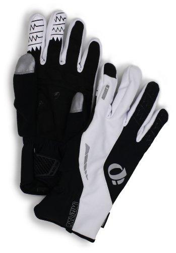Pearl Izumi Men's Elite Softshell Glove, White, Medium (Shell Elite Glove Soft)