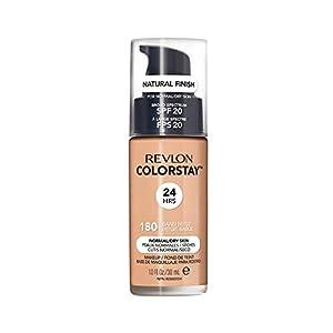 Revlon ColorStay Base de Maquillaje para Piel Mixta/Grasa, Beige Arena - 30 ml