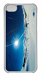 iPhone 5C Case, Personalized Custom Valle Nevado for iPhone 5C PC Clear Case