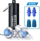 High Fidelity Concert Earplugs - Hearing Protection Ear Plugs for Concerts, Musicians, Motorcycle - Noise Reduction 23db…