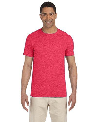 By Gildan Gildan Adult Softstyle 45 Oz T-Shirt - Heather Red - XL - (Style # G640 - Original Label) ()
