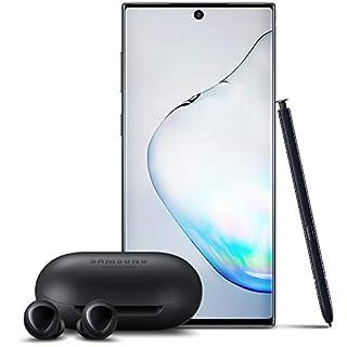 Samsung Galaxy Note 10 Factory Unlocked Cell Phone with 256GB (U.S. Warranty), Aura Black/ Note10w/ Galaxy Buds