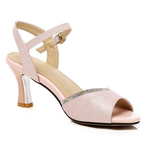 COOLCEPT Damen Sandalen High Heels Sommer Schuhe