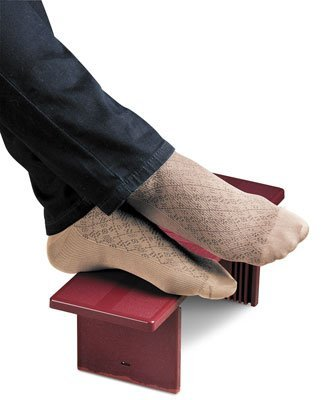 Portable Footrest Black by Econo High