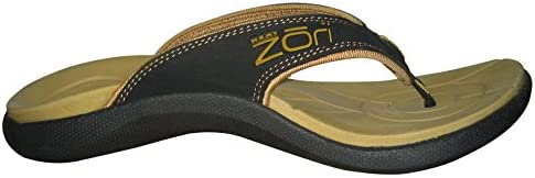 Neat Feat Men's Zori Sport Orthotic Slip on Sandals Flip