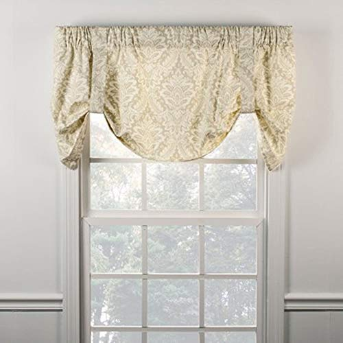 Ellis Curtain Donnington 50-by-21 Inch Lined Tie-Up for sale  Delivered anywhere in USA