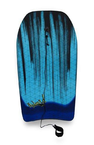 37-in-Teal-Body-Board-Black-Paint-Streaks-Design