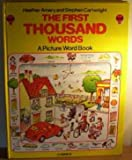First Thousand Words in English, Heather Amery and Mila, 0860202666