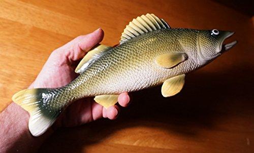 Large Realistic Walleye Fish Fisherman Cabin Fishing Lodge Home Decor -