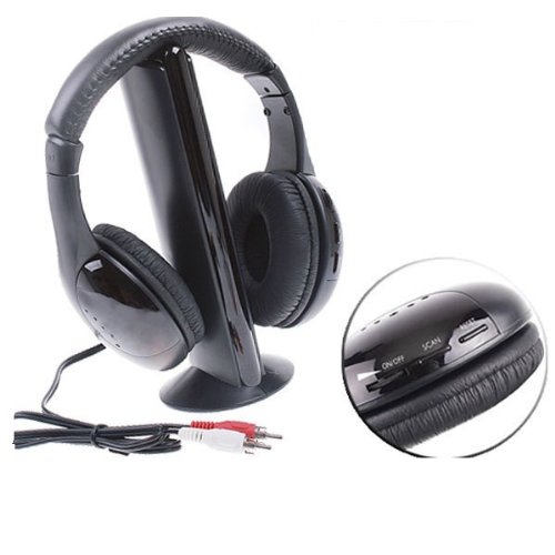 Wireless Headphones Functions Microphone Transmitter