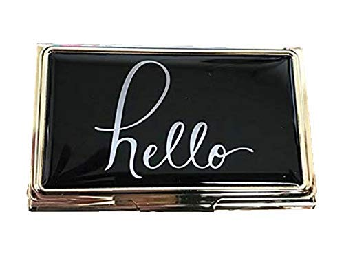- Kate Spade New York Business Card Holder (Hello)