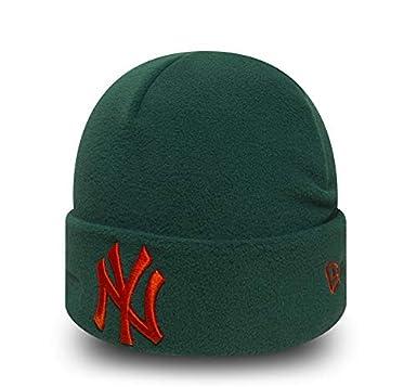 17aa3098b5e2ad New Era NY Yankees Winter Utility Micro Fleece Knit Beanie: Amazon.co.uk:  Sports & Outdoors