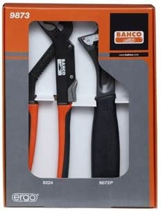 Bahco 9873 JUEGO 9072 Y 8224: Amazon.es: Bricolaje y herramientas